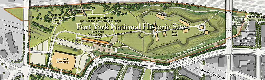 Landscape Master Plan for Fort York National Historic Site. Prepared by DTAH, Toronto, 2012.