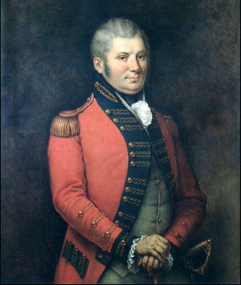 Colonel John Graves Simcoe, Lt.-Governor of Upper Canada, 1791–96.