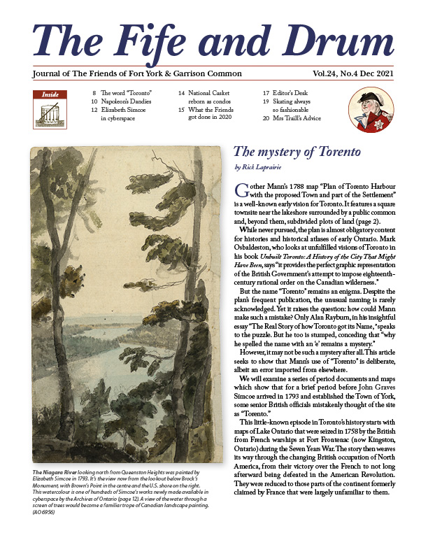 fife and drum dec 2020 cover