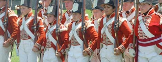 Fort York Guard on Parade. Credit: Kathy Mills