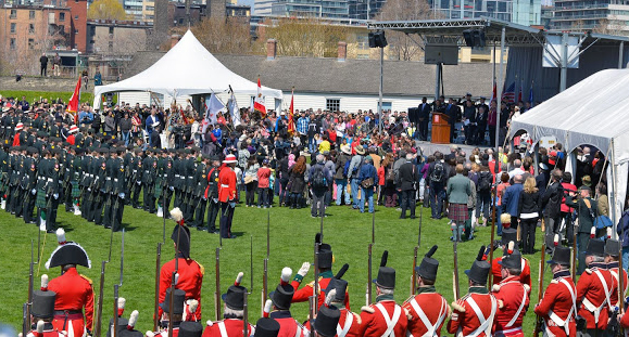 Battle of York Commemoration ceremony. Photo: Andrew Stewart